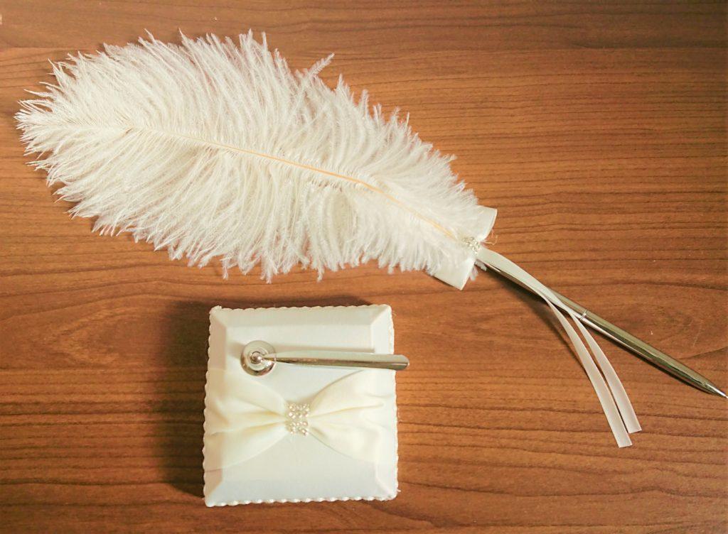 羽ペン 結婚式