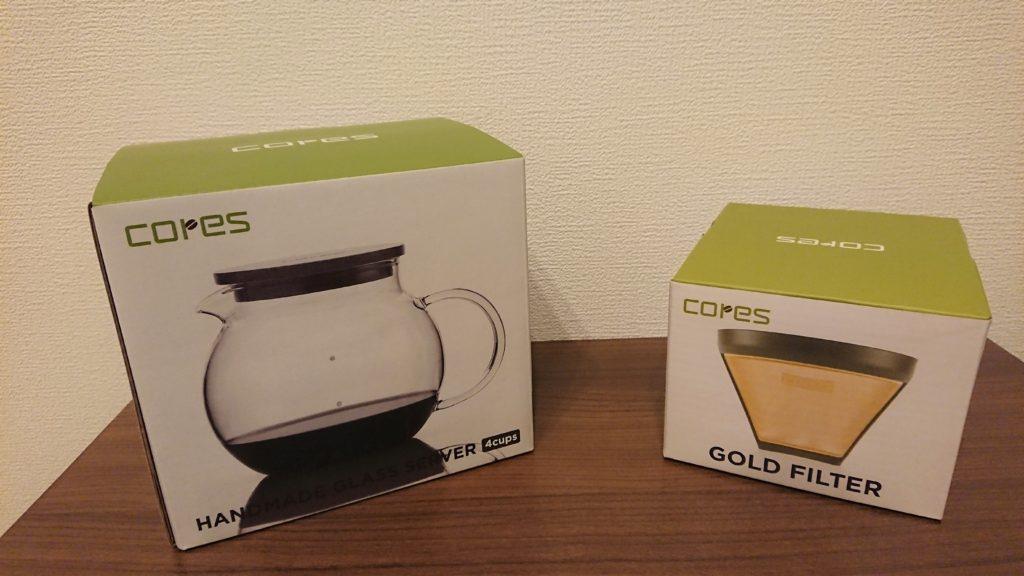 cores ゴールドフィルター