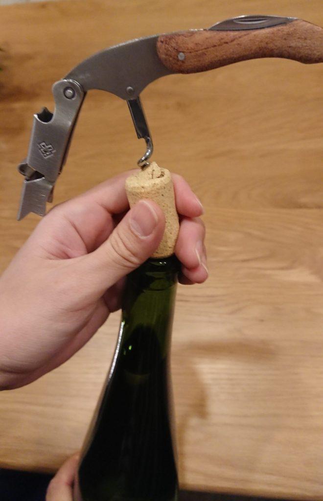 ワイン栓抜き