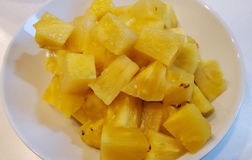 パイナップル熟成2