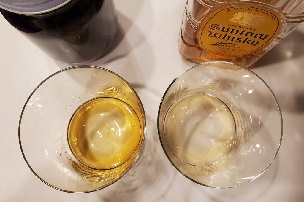 ウイスキー熟成3週間